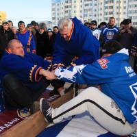 Nenets stick pulling